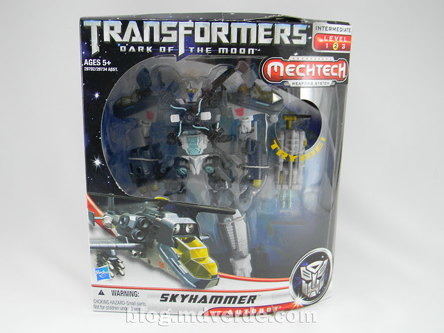 Transformers Skyhammer Voyager - Dark of the Moon - caja