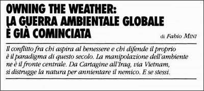 HAARP e terremoto in Giappone. La guerra ambientale continua ed anche l'installazione di MUOS, la HAARP Italiana/MUOS the Italian HAARP