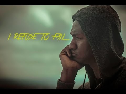 "Get Inspired with this Spoken Word Clip! Watch ""I Refuse To Fail"" by Nahshon Swanston"