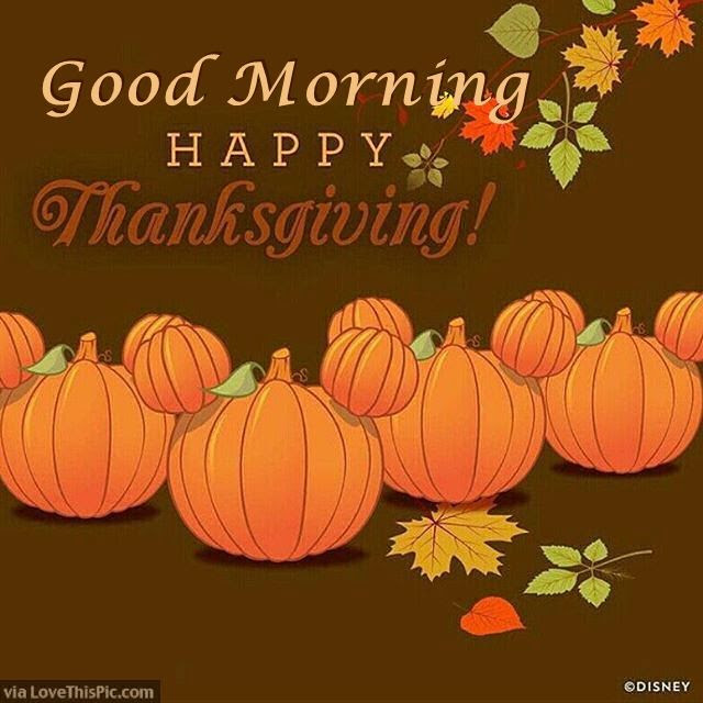 Happy Thanksgiving Good Morning Quote To Share Pictures Photos And