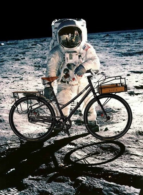 Armstrong In A Bike Race