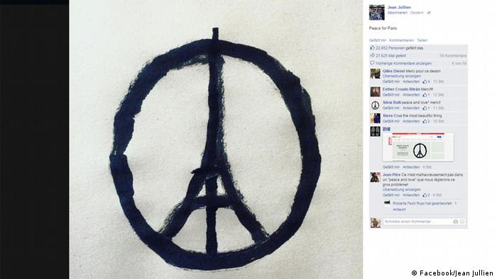 #PeaceForParis