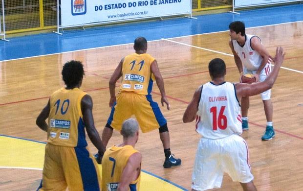 Laprovittola basquete Flamengo x ACF Campos (Foto: Fabio Leme)