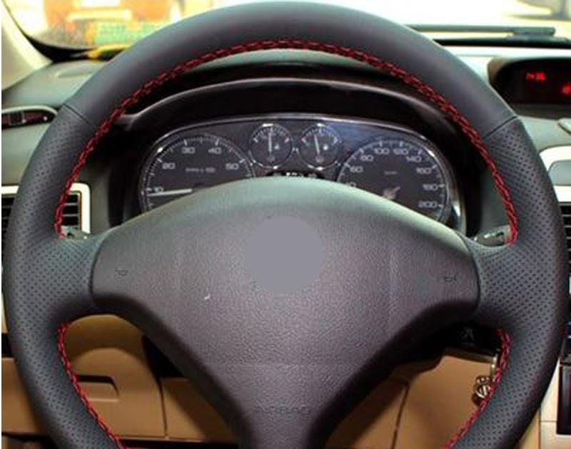 funda universal de piel de microfibra para volante de coche 36 cm//38 cm Ocamo Funda para volante