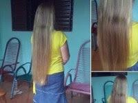 Evangélica se torna alvo de críticas por anunciar que vai vender cabelo que não cortava há 14 anos