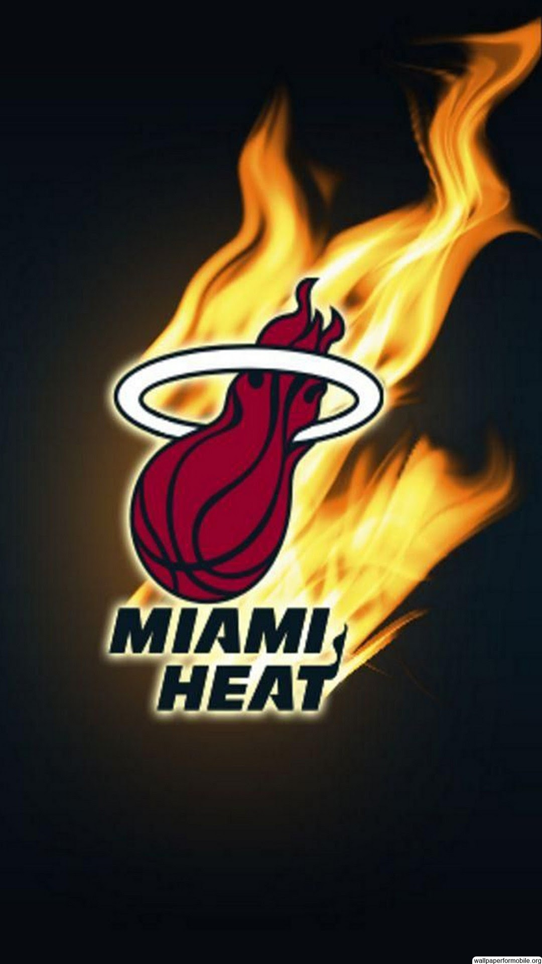 Miami Heat Logo Wallpaper 68 Images