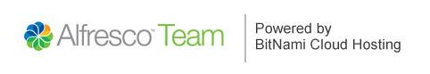 Alfresco Team on BitNami Cloud Hosting