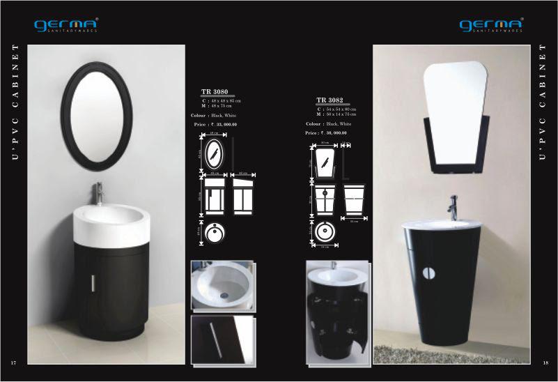 Product Catalogue Designs - GERMA Sanitarywares, Chennai. Page 9