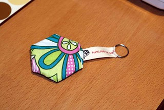 Key Fob reverse for Mouthy Stitches Partner