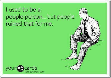 I Used To Be A People Person