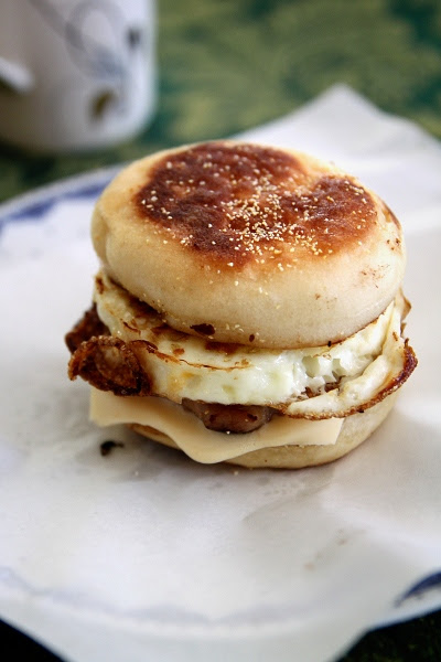 Homemade Sausage and Egg McMuffins