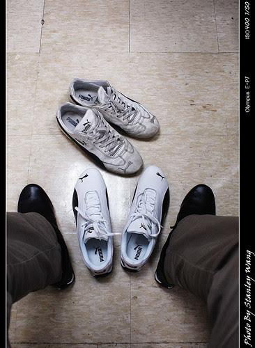 我的PUMA鞋