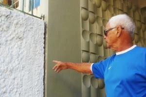 Segundo Nélio Ferreira, as paredes de casa tremem toda vez que o tatuzão começa a funcionar