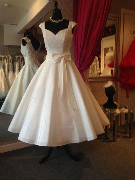 tea length wedding dress ivy uk  vintage
