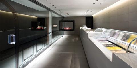 Ice Cream Shop Interior Design by Hiroyuki Miyake :: Homepic