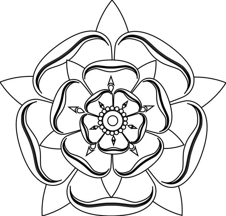 Free Line Drawing Of A Rose Download Free Clip Art Free Clip Art