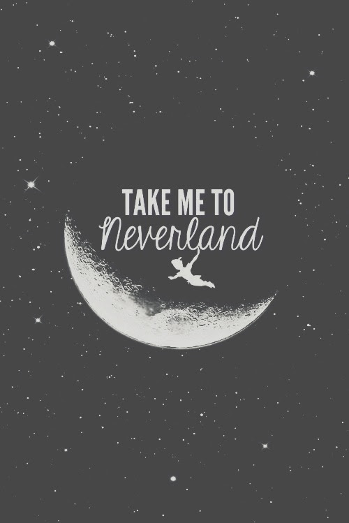 Frases Imagens Take Me To Neverland Hd Wallpaper And Background