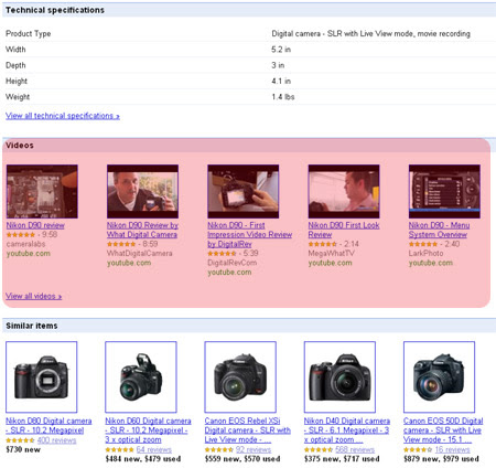 Videos in Product Search