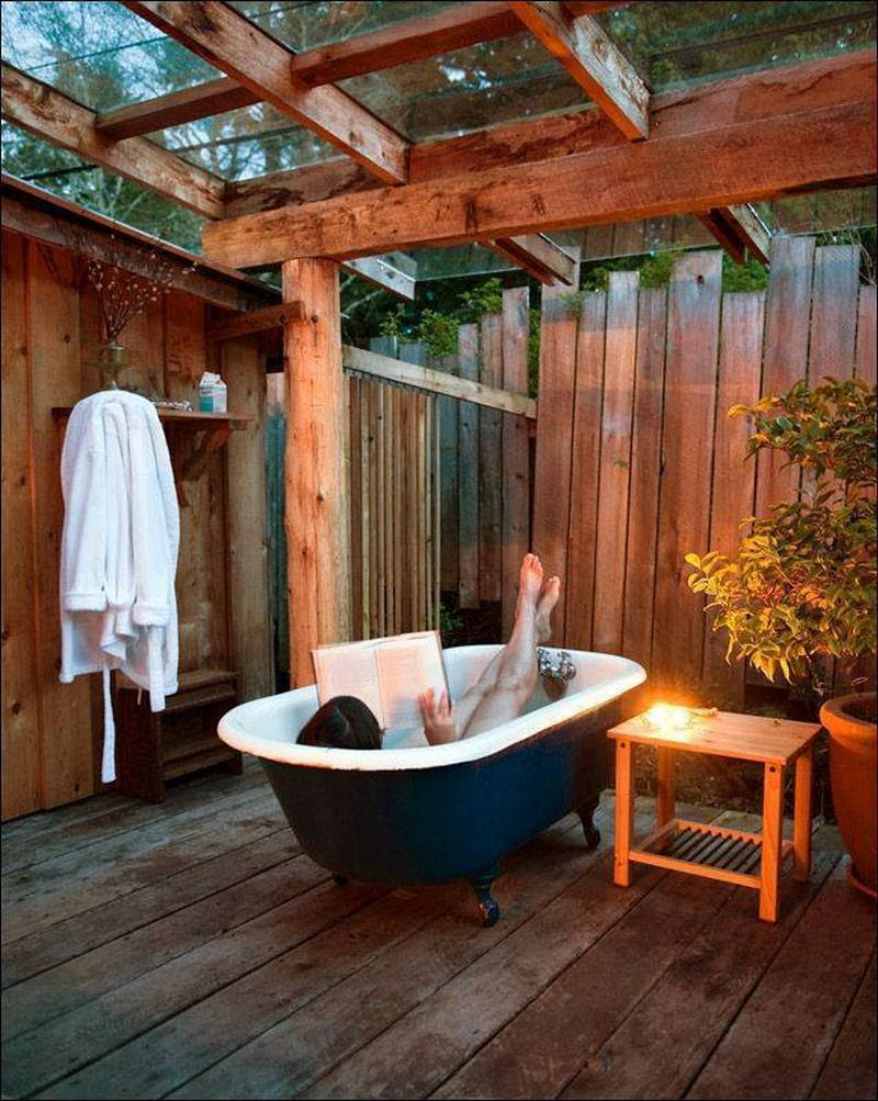 Cleansing the Soul - outdoor baths and showers | The Owner ...