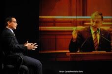 Victor Ponta si Mircea Geoana