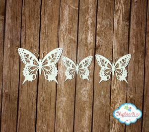 Бабочки резные [2] ― Магазин-производство товаров для рукоделия и скрапбукинга.