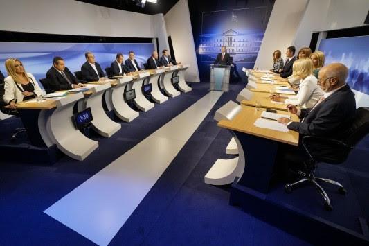 Debate πολιτικών αρχηγών - Όλο το παρασκήνιο μίας άνευρης τηλεμαχίας - Οι κόντρες και οι στιγμές γέλιου