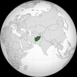 Vị trí của Afghanistan