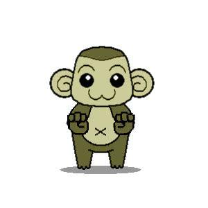 apes chimps gorillas monkey  primate gif animations