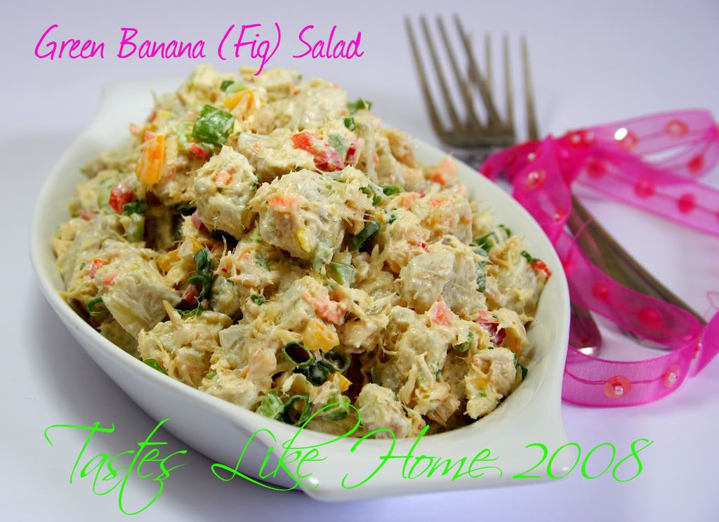 Green Banana (Fig) Salad
