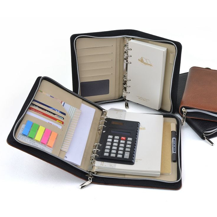 1000+ images about PU leather organizer, agenda, planner, diary on ...