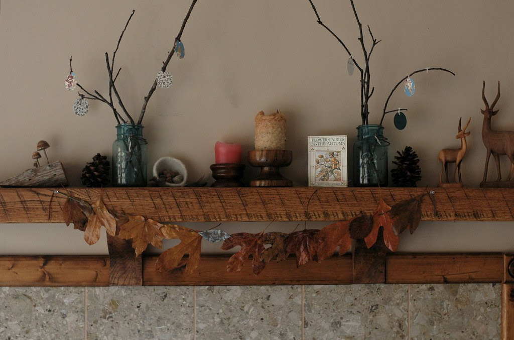 Sticks & Leaves: Autumn Mantle