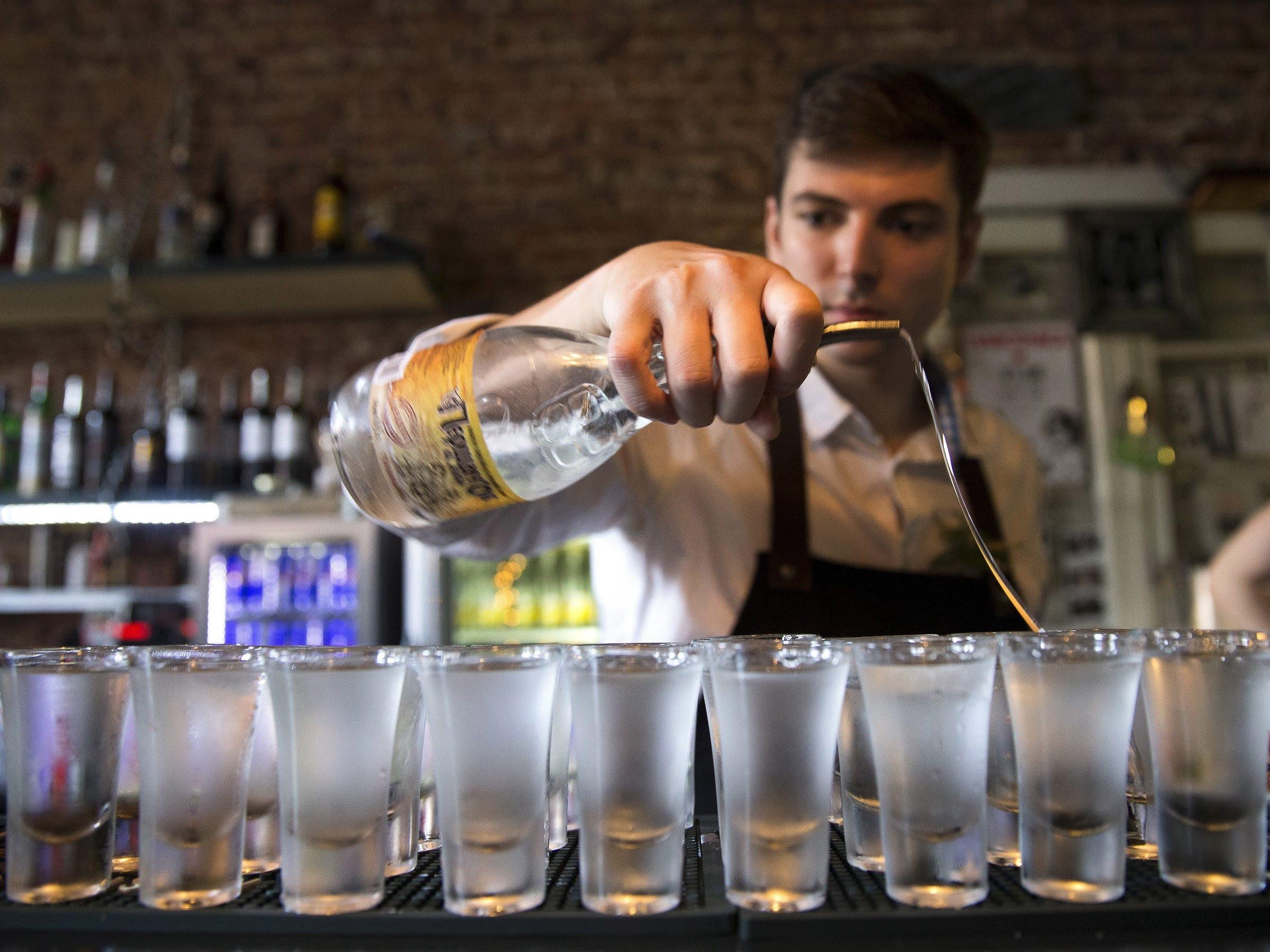 bartender shots