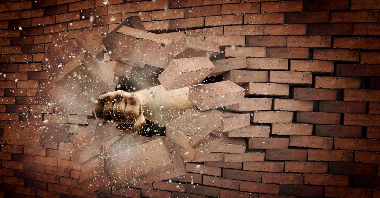 tear down wall
