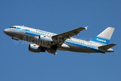 Finnair-Finnish Airlines Airbus A319-112 OH-LVE (msn 1791) BRU (Ole Simon). Image: 912624.