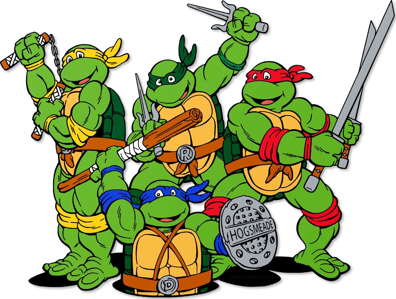 Ninja Turtles Hogwarts And Archetypes Steve Lovelace