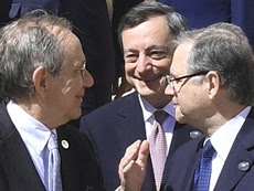 Padoan, Draghi e Visco