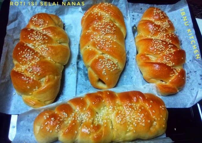 Cara Memasak Roti Isi Selai Nanas Super