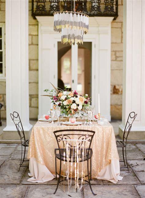 Classy Art Deco wedding decor & cocktail ideas   A Girls