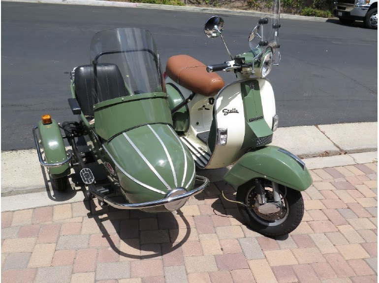 Genuine Scooter Sidecar Stella Motorcycles For Sale