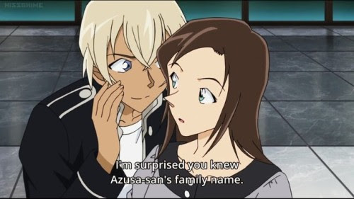 Detective Conan Amuro And Azusa Fanfiction