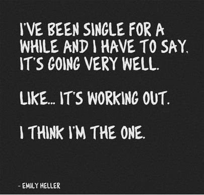 Being Single Quote Quote Number 547249 Picture Quotes