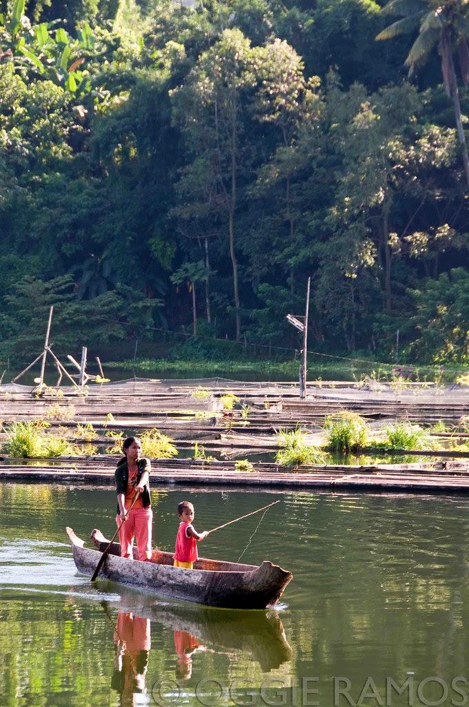 Lake Sebu - Young Fisherman & Mom