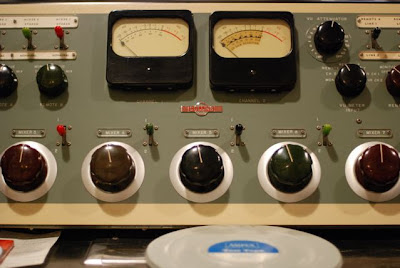 Mixing Console in the Norman Petty Recording Studios, Clovis, New Mexico
