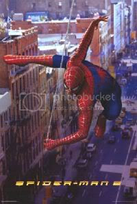Spiderman II - 'Street' poster