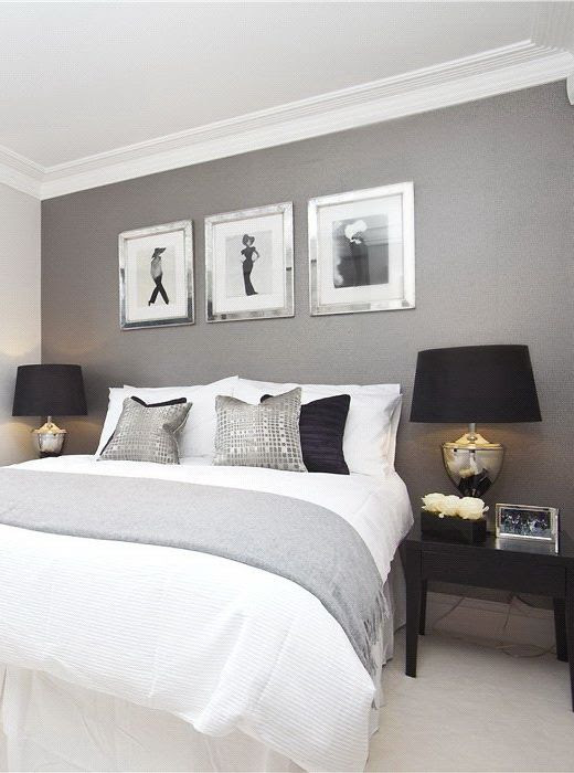 40 Gray Bedroom Ideas Decor Gray And White Bedroom