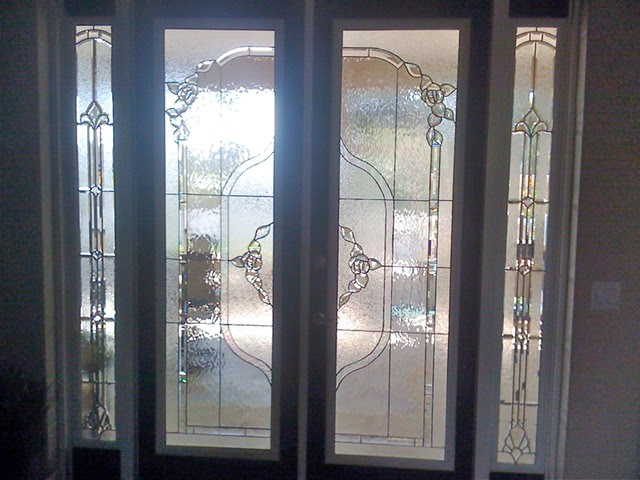 Double french doors and sidelights   Jim's Wallpaper and ...