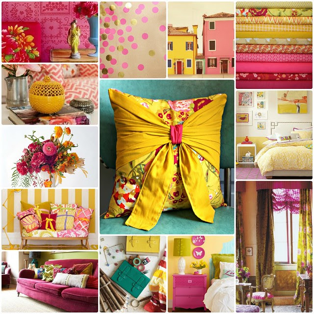 Pink & Yellow Color Inspiration