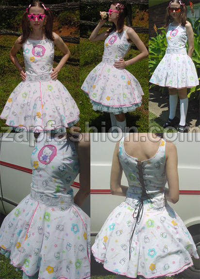 hello kitty quinceanera dresses