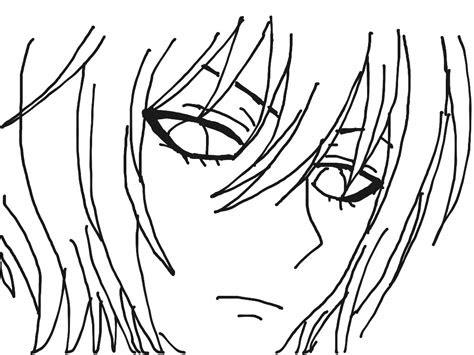 showme drawing anime boy
