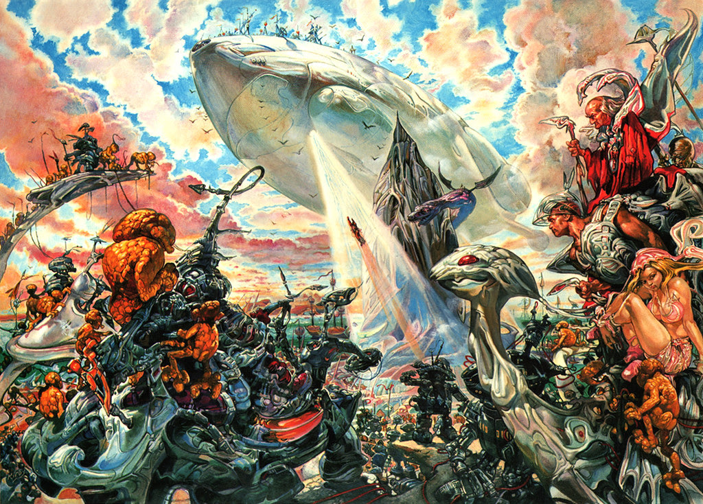 Josh Kirby - The Voyage Of The Ayeguy (Ascension) 1980